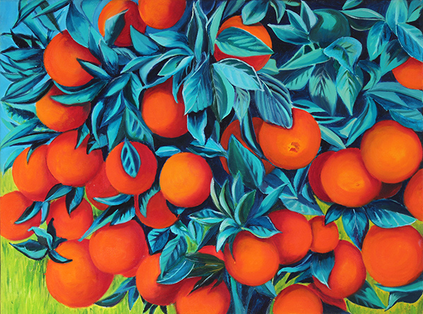 Oranges, by Debbie Pearce